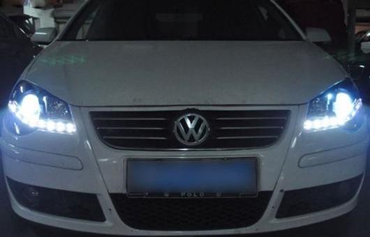 AL 適用: トヨタ タンドラ ヘッドライト 2009-2014 LED DRL レンズ ダブル ビーム H7 HID キセノン BI 4300K~8000K 35W・55W AL-HH-0332