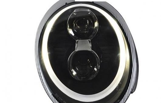 AL 適用: ポルシェ/PORSCHE 997 911 ヘッドライト 2004-2008 LED DRL レンズ ダブル ビーム H7 HID キセノン BI 4300K~8000K 35W・55W AL-HH-0335