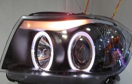AL 適用: BMW/ビーエムダブリュー 318I 320I 325I ヘッドライト 2007-2011 E90 LED DRL BI キセノン レンズ ハイ ロー ビーム パーキング HID フォグランプ 4300K~8000K 35W・55W AL-HH-0344