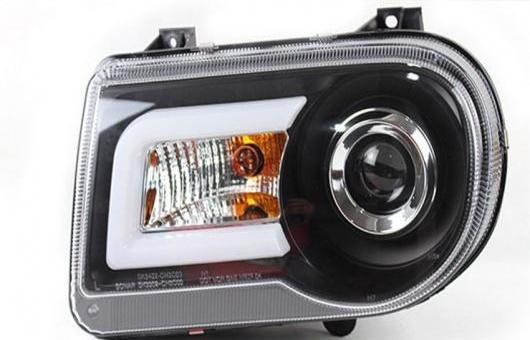 AL 適用: クライスラー/CHRYSLER 300C ヘッドライト 2005-13 LED DRL レンズ ダブル ビーム H7 HID キセノン BI 4300K~8000K 35W・55W AL-HH-0356