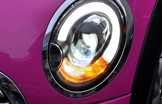 AL 適用: BMW/ビーエムダブリュー ミニ R56 ヘッドライト 2007-2013 LED DRL レンズ ダブル ビーム H7 HID キセノン BI 4300K~8000K 35W・55W AL-HH-0358