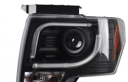 AL 適用: フォード/FORD F150 ヘッドライト 2009-2011 ラプター LED DRL レンズ ダブル ビーム H7 HID キセノン BI 4300K~8000K 35W・55W AL-HH-0365