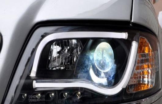 AL 適用: アウディ/AUDI A6 ヘッドライト 1999-2004 LED DRL レンズ ダブル ビーム H7 HID キセノン BI 4300K~8000K 35W・55W AL-HH-0377
