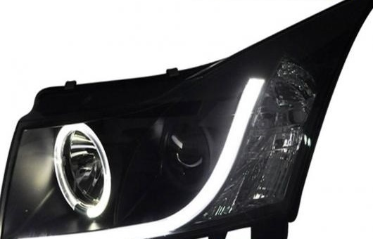 AL 適用: シボレー/CHEVROLET クルーズ ヘッドライト 2009-2013 LED DRL レンズ ダブル ビーム H7 HID キセノン BI 4300K~8000K 35W・55W AL-HH-0382
