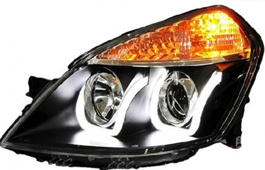 AL 適用: エクセル オペル ヘッドライト 2008-2013 LED ヘッドランプ DRL レンズ ダブル ビーム H7 HID キセノン BI 4300K~8000K 35W・55W AL-HH-0390