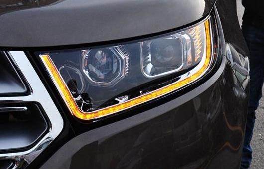 AL 適用: フォード/FORD エッジ ヘッドライト 2015 LED DRL レンズ ダブル ビーム H7 HID キセノン BI 4300K~8000K 35W・55W AL-HH-0399
