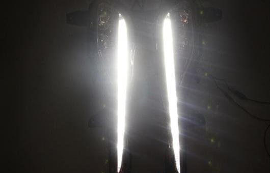 AL 適用: ヒュンダイ/現代/HYUNDAI ミストラ LED DRL 2013-2014 フォグ ランプ デイタイムランニングライト 高光度 ガイド AL-HH-0421