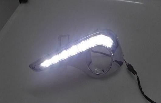 AL 2012-2014 適用: トヨタ ハイランダー LED デイタイムランニングライト フォグ ライト DRL AL-HH-0429
