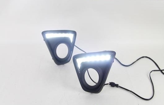 AL 適用: マツダ CX-5 2013-2015 LED DRL フォグ ランプ デイタイムランニングライト 高光度 ガイド A TUSK AL-HH-0469