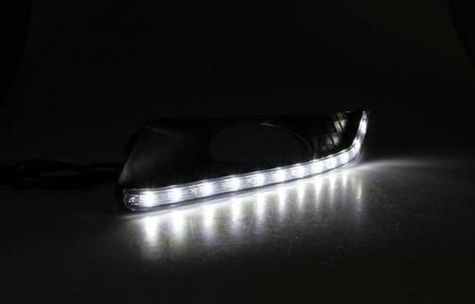 AL 適用: ホンダ クロスツアー 2012-2014 LED DRL デイタイムランニングライト 高光度 ガイド D AL-HH-0472
