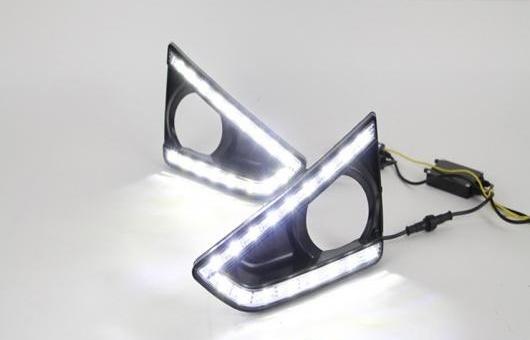 AL 適用: トヨタ レイツ/マークX LED DRL フォグ ランプ デイタイムランニングライト 高光度 ガイド AL-HH-0487