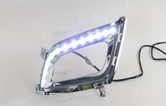 AL 適用: 起亜 K5 LED DRL フォグ ランプ デイタイムランニングライト 高光度 ガイド AL-HH-0493