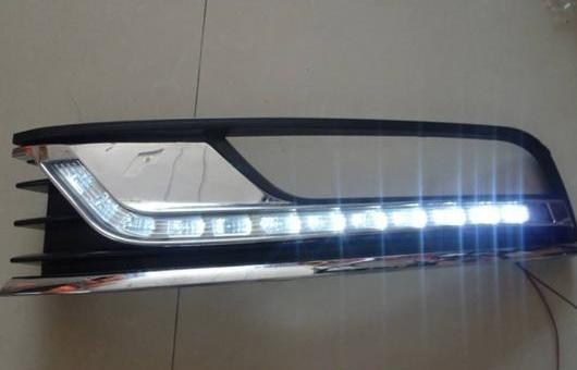 AL 適用: VW フォルクスワーゲン/VOLKSWAGEN マゴタン 2011-2013 LED DRL フォグ ランプ デイタイムランニングライト 高光度 ガイド AL-HH-0502