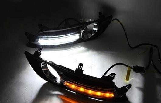 AL 適用: 日産 シルフ LED DRL フォグ ランプ デイタイムランニングライト 高光度 ガイド A スタイル AL-HH-0524