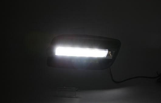 AL 適用: 日産 ティアナ LED DRL 高光度 ガイド フォグ ランプ デイタイムランニングライト A スタイル AL-HH-0527