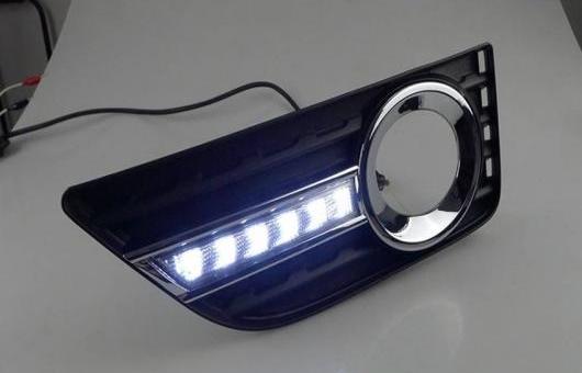 AL 2012-2014 適用: トヨタ カムリ LED デイタイムランニングライト フォグ ライト DRL AL-HH-0539