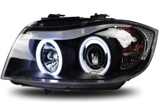 AL 適用: BMW/ビーエムダブリュー E90 318I 320I 325 ヘッドライト 2005-2012 LED DRL レンズ ダブル ビーム H7 HID キセノン BI 4300K~8000K 35W・55W AL-HH-0544