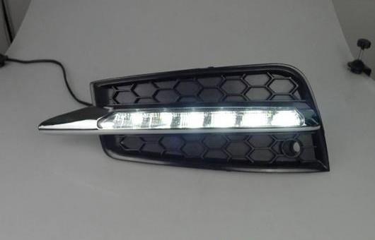 AL 適用: シボレー/CHEVROLET クルーズ LED DRL 高光度 ガイド フォグ ランプ デイタイムランニングライト B スタイル AL-HH-0555