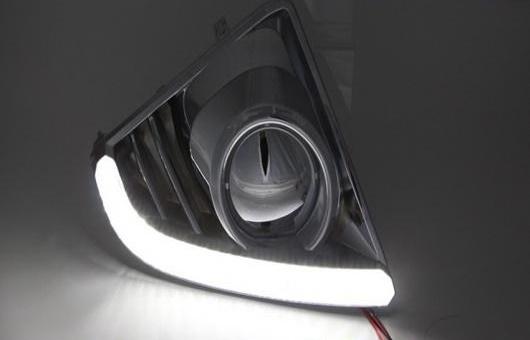 AL 適用: トヨタ ヤリス L LED DRL 2013-2014 フォグ ランプ デイタイムランニングライト 高光度 ガイド AL-HH-0560