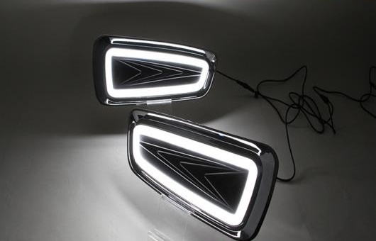 AL 適用: フォード/FORD ラプター F150 LED DRL 高光度 ガイド フォグ ランプ デイタイムランニングライト AL-HH-0562