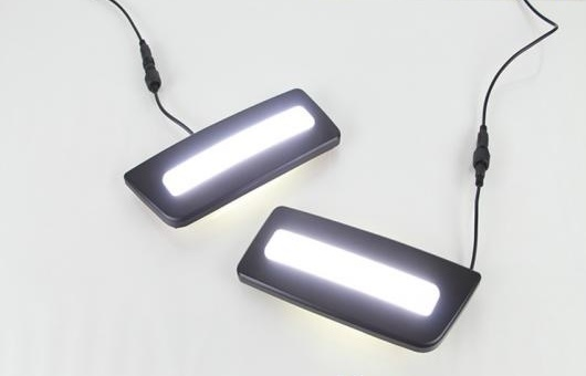 AL 適用: フォード/FORD レンジャー 2012-2015 LED DRL フォグ ランプ デイタイムランニングライト 高光度 ガイド AL-HH-0583