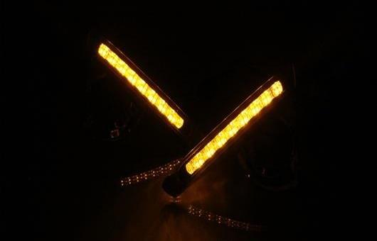 AL 適用: トヨタ クラウン 2012-2014 LED DRL 高光度 ガイド フォグ ランプ デイタイムランニングライト AL-HH-0623