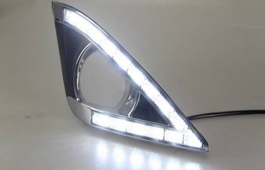 AL 適用: トヨタ カローラ EX LED DRL 高光度 ガイド フォグ ランプ デイタイムランニングライト AL-HH-0639