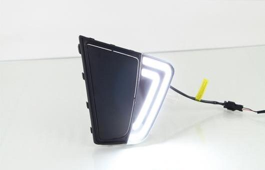 AL 適用: ヒュンダイ/現代/HYUNDAI IX25 LED DRL 高光度 ガイド フォグ ランプ デイタイムランニングライト AL-HH-0647