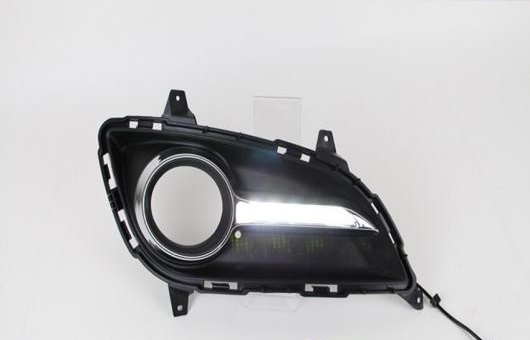 AL 適用: ヒュンダイ/現代/HYUNDAI エラントラ LED DRL 高光度 ガイド フォグ ランプ デイタイムランニングライト AL-HH-0660