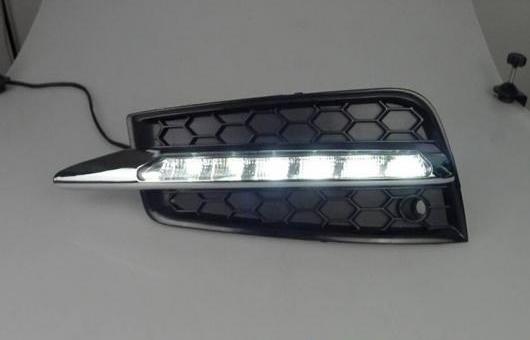 AL 適用: シボレー/CHEVROLET クルーズ 09-13 LED DRL フォグ ランプ デイタイム ランニング 高光度 ガイド ライト AL-HH-0671