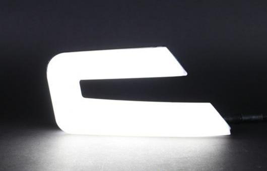AL 適用: ホンダ アコード 2013-2015 LED DRL デイタイムランニングライト 高光度 ガイド フォグライト フォグランプ AL-HH-0690