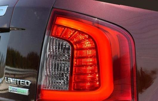 【爆買い!】 AL 適用: レッド フォード/FORD リミテッド エッジ フォード/FORD テールライト アセンブリ 2012-2014 リミテッド LED テール ライト リア ランプ DRL + ブレーキ 4個 レッド AL-HH-0704, 超可爱:4598f2fd --- statwagering.com