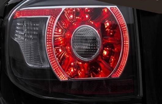 AL 適用: トヨタ FJ クルーザー テールライト FJ150 LED テール ランプ リア DRL + ブレーキ パーク シグナル レッド AL-HH-0718