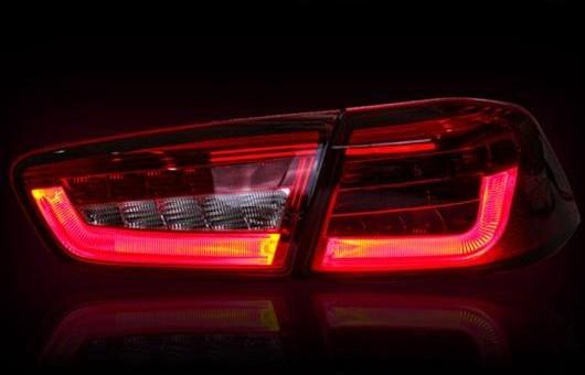 【高い素材】 AL ライト テール ブレーキ ランプ 適用: DRL トヨタ ランサー EX ライト LED BMW デザイン リア DRL + ブレーキ パーク シグナル レッド AL-HH-0734, colorcandy:edfed454 --- kventurepartners.sakura.ne.jp