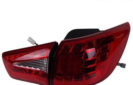 AL 適用: 起亜 スポーテージ R テール ライト LED リア ランプ DRL + ブレーキ パーク シグナル レッド AL-HH-0740