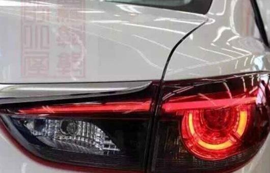 AL 適用: マツダ 3 テールライト 2014-2015 MAZDA3 アクセラ LED テール ランプ リア DRL + ブレーキ パーク シグナル ライト レッド AL-HH-0745