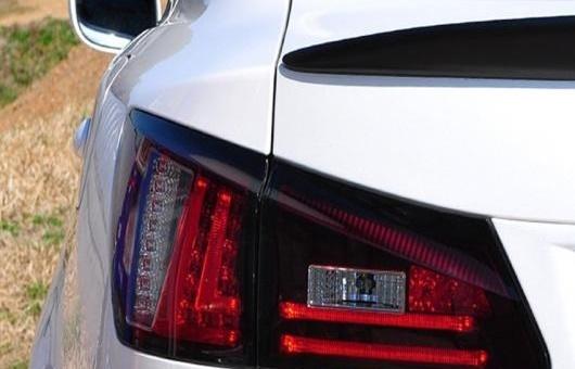 AL テールライト 適用: レクサス IS250 IS300 2006-2012 LED テール ライト アセンブリ リア ランプ ドライビング + ブレーキ リバース バック レッド AL-HH-0752