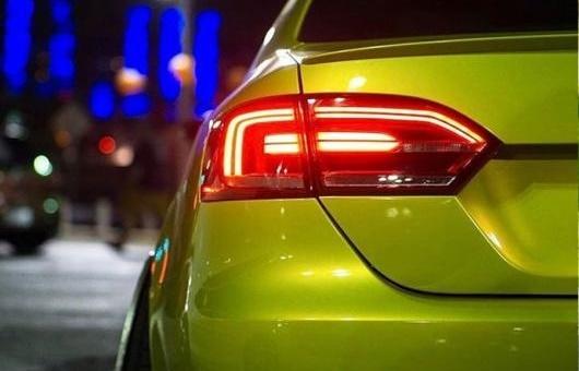 AL 適用: VW フォルクスワーゲン/VOLKSWAGEN ジェッタ 2012-2017 LED テールライト GLI MK6 リア ランプ パーキング NCS ライト レッド AL-HH-0755