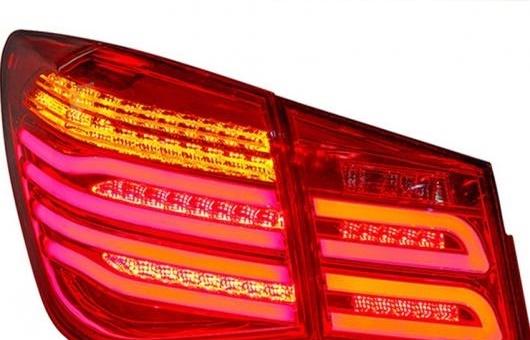 AL 適用: シボレー/CHEVROLET クルーズ テールライト 2009-2014 LED テール ランプ GLK リア DRL + ターンシグナル ブレーキ リバース LE レッド AL-HH-0759