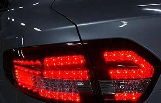 AL 適用: ルノー/RENAULT フルエンス LED テールライト 2010-2014 アルメーラ SM3 テール ランプ リア DRL + ブレーキ パーク シグナル ライト レッド AL-HH-0799