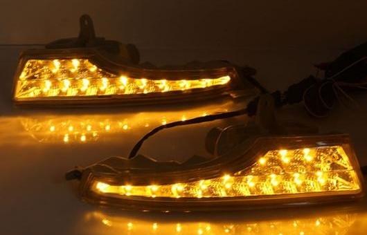 AL 適用: 日産 アルティマ 13-16 LED DRL フォグ ランプ デイタイム ランニング 高光度 ガイド ライト 35W ホワイト・イエロー 5500K AL-HH-0818