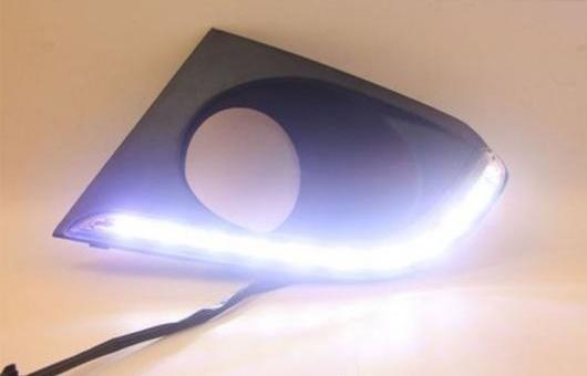 AL 適用: シボレー/CHEVROLET クール 14-17 LED DRL フォグ ランプ デイタイム ランニング 高光度 ガイド ライト 35W ホワイト 5500K AL-HH-0823