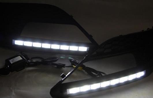 AL 適用: MG6 LED DRL フォグ ランプ デイタイム ランニング 高光度 ガイド ライト 35W ホワイト 5500K AL-HH-0833
