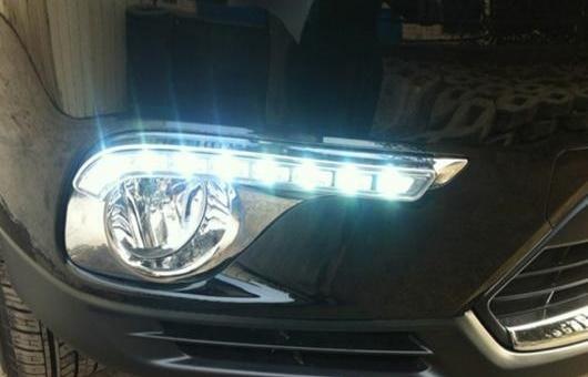 AL 適用: トヨタ ハイランダー 12-14 LED DRL フォグ ランプ デイタイム ランニング 高光度 ガイド ライト 35W ホワイト 5500K AL-HH-0840