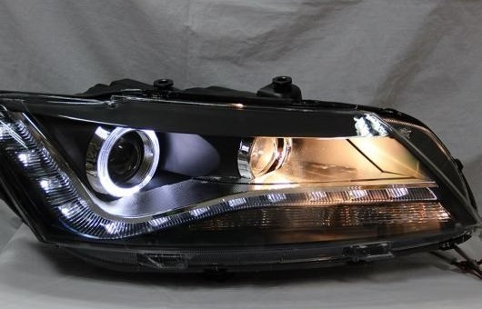 AL ヘッドランプ 適用: ノース アメリカ VW パサート 2011-2015 LED ヘッドライト DRL H7/D2H HID キセノン BI レンズ 4300K~8000K 35W・55W AL-HH-0877