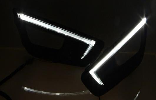 AL 適用: フォード/FORD フォーカス 2015-2017 LED DRL フォグ ランプ デイタイム ランニング 高光度 ガイド ライト 35W ホワイト 5500K AL-HH-0881