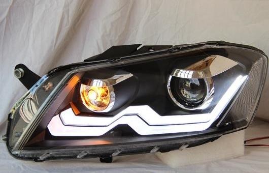 AL ヘッドランプ 適用: ヨーロッパ仕様 VW パサート 2012 LED ヘッドライト DRL H7/D2H HID キセノン BI レンズ 4300K~8000K 35W・55W AL-HH-0903