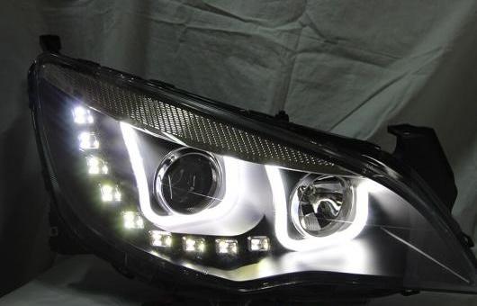 AL ヘッドランプ 適用: ビュイック/BUICK エクセル XT U スタイル 2009-2014 LED ヘッドライト DRL H7/D2H HID キセノン BI レンズ 4300K~8000K 35W・55W AL-HH-0905