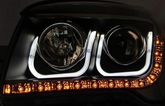 AL ヘッドランプ 適用: 起亜 スポーテージ 2008-2013 LED ヘッドライト DRL H7/D2H HID キセノン BI レンズ 4300K~8000K 35W・55W AL-HH-0912