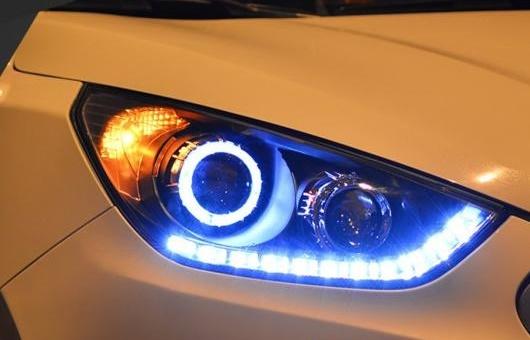 AL ヘッドライト 適用: ヒュンダイ/現代/HYUNDAI IX35 2010-13 LED IX35HEAD ランプ デイタイムランニングライト DRL バイキセノン HID 4300K~8000K 35W・55W AL-HH-0953